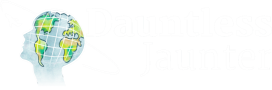 Dauntless Jaunter Inverted Logo Footer