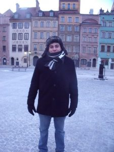 Christian in Warsaw February 2012
