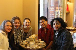 a light breakfast at thePanificio Pasticceria Alessandra, located at thePiazza 20 Settembre