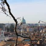roofs from Piazzale del Castello Udine