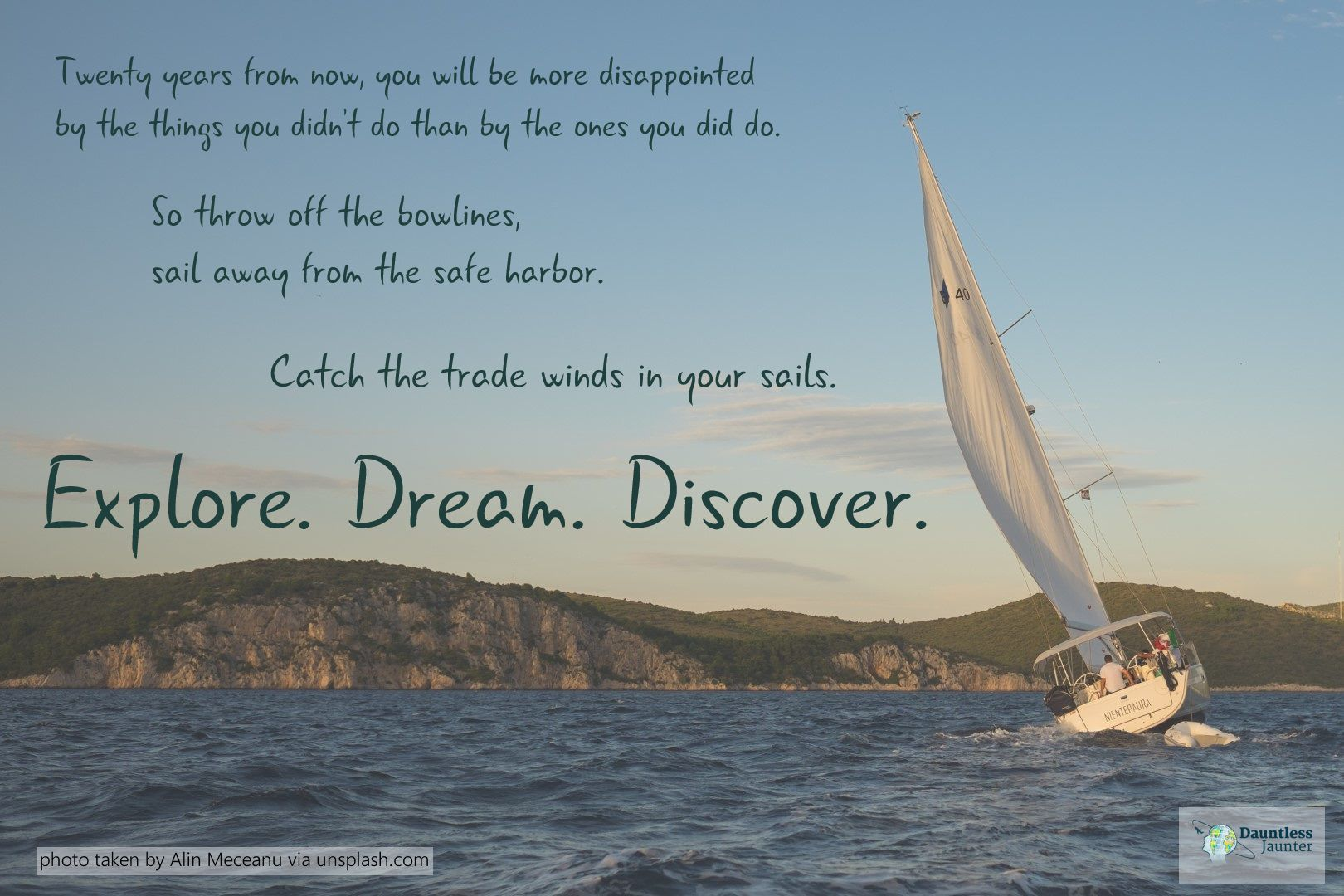 Dose of Inspiration: A Travel Quote by Mark Twain ...