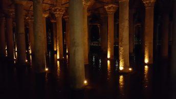 Basilica Cistern Istanbul Pillars