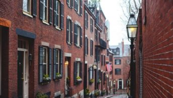 Acorn Street Beacon Hill Boston is the most photographed street