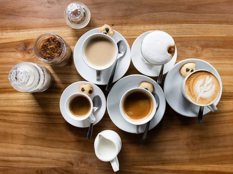 different types of coffee terms and coffee vocabulary to know