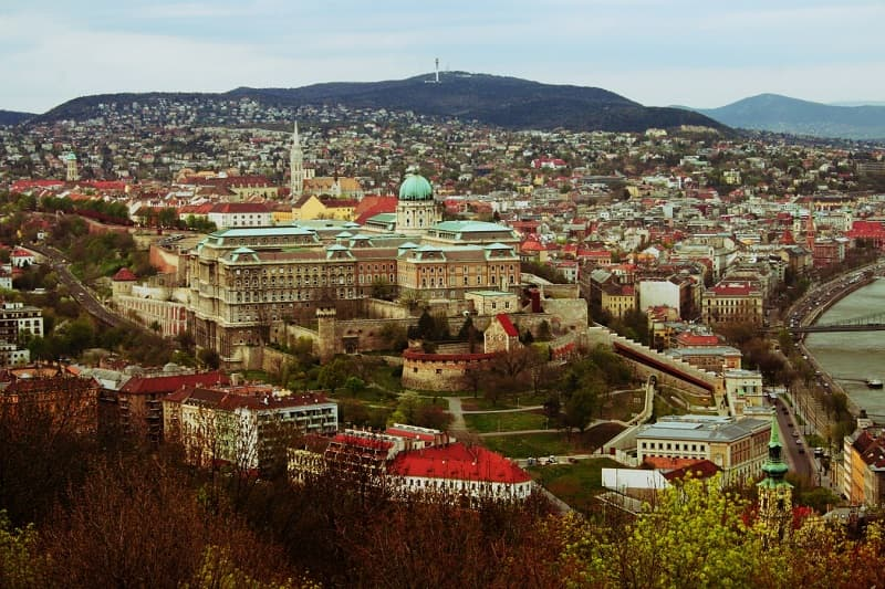 exploring Buda Castle in Budapest is one of the best things to do in Hungary