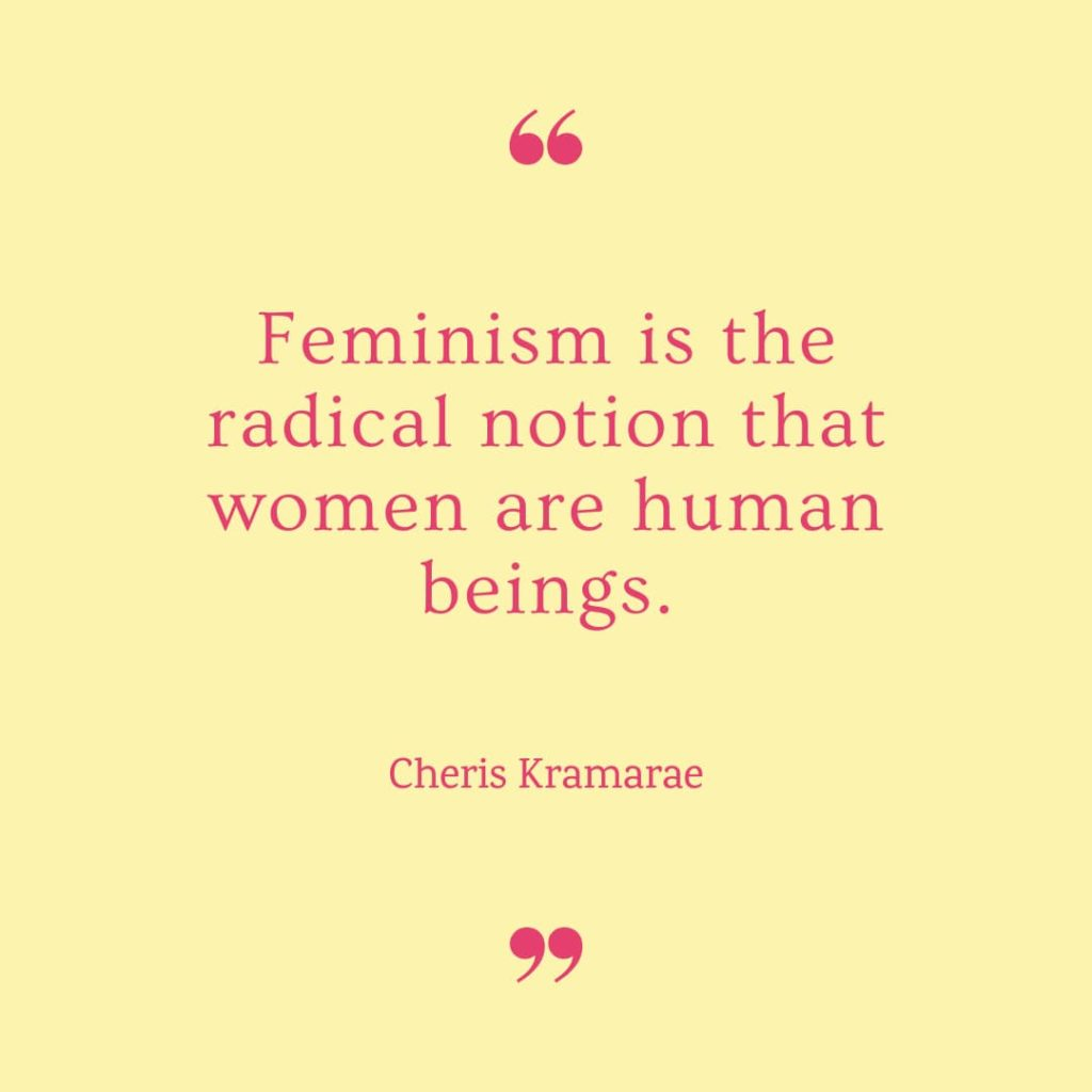 International Women's Day Quotes by Cheris Kramarae