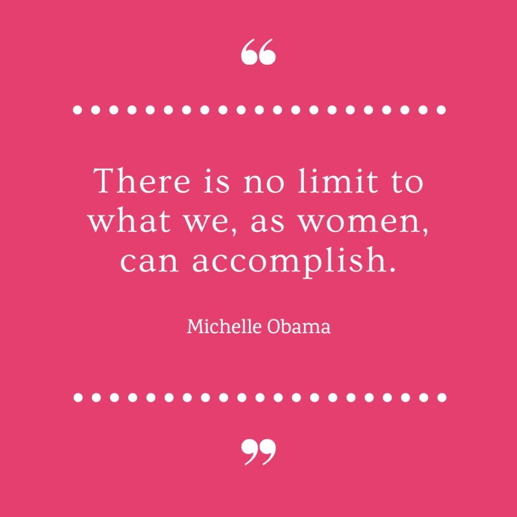 International Women's Day Quotes by Michelle Obama