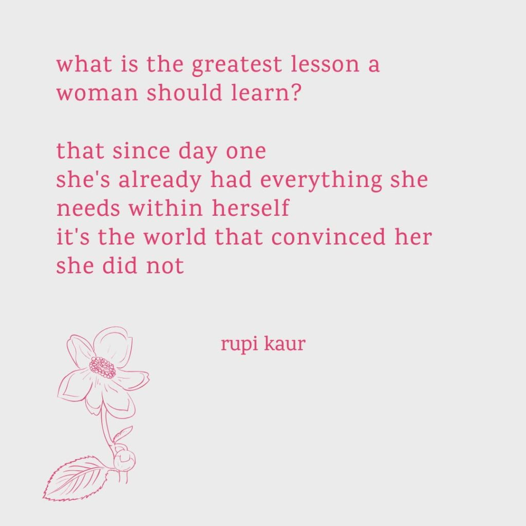 International Women's Day Quotes by Rupi Kaur