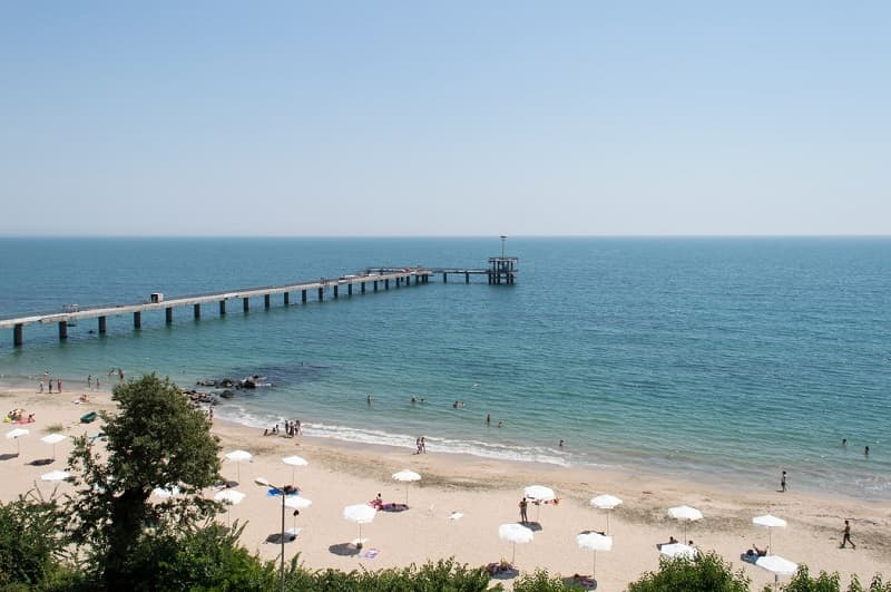 getting some sun at Burgas beach is one of the top things to do in Bulgaria