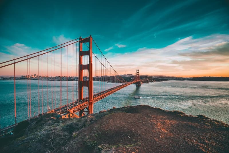 one of the most basic Golden Gate Bridge facts is that it spans the Golden Gate strait connecting San Francisco Bay and the Pacific Ocean