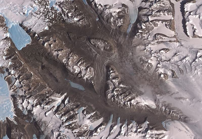 McMurdo Dry Valleys Antarctica are the driest place on earth