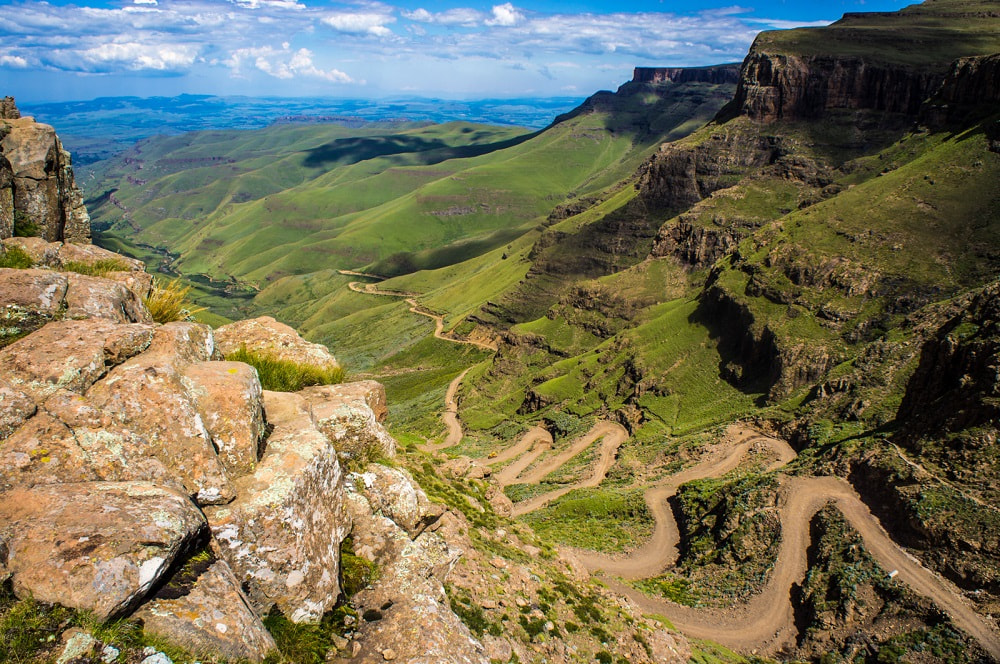 Sani Pass between South Africa and Lesotho facts